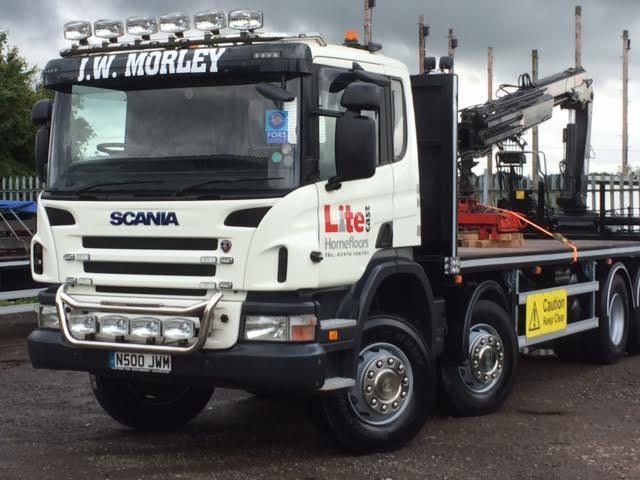 Scania R-Series 8x4 (N500 JWM)
