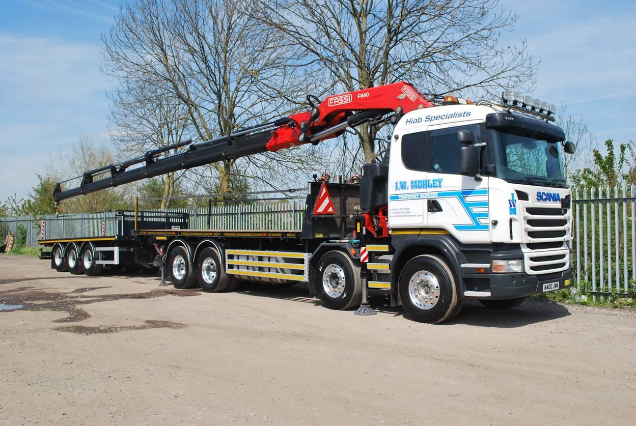 Scania R-Series (N400 JWM)